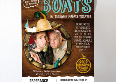 Boats Promotional Poster