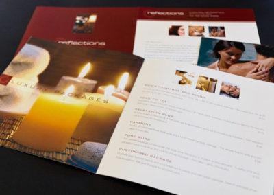 Reflections Service Menu Design