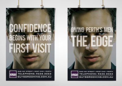 Guys Grooming Promotional Posters