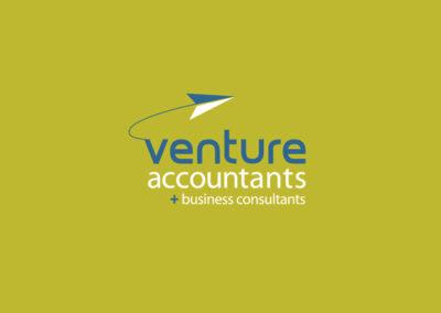 Venture Accountants Logo Design
