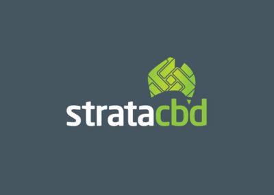 Strata CBD Logo Design